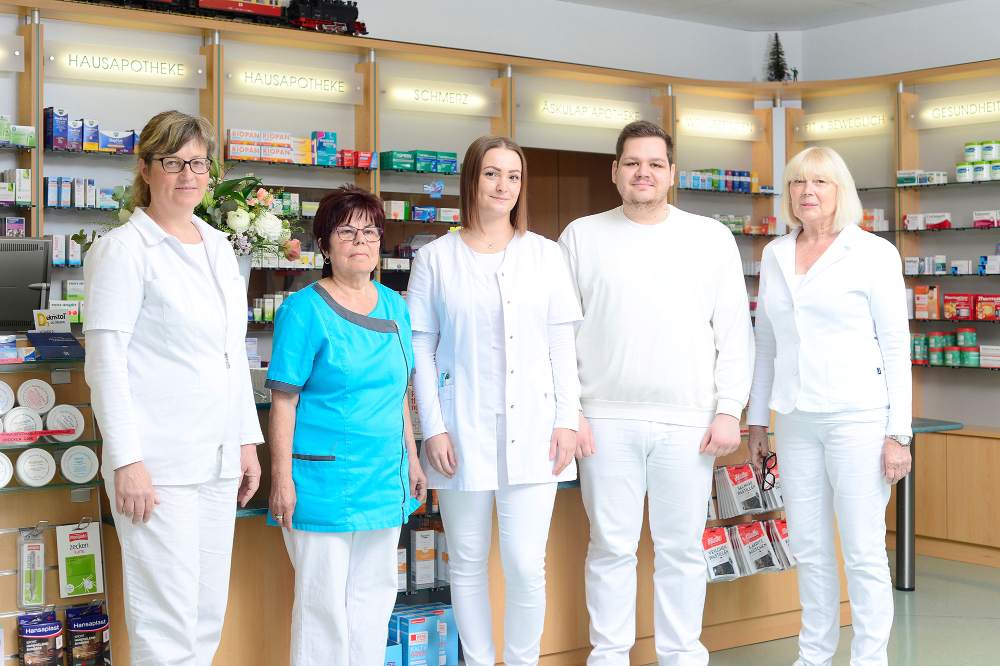 Team der Äskulap Apotheke Wansleben